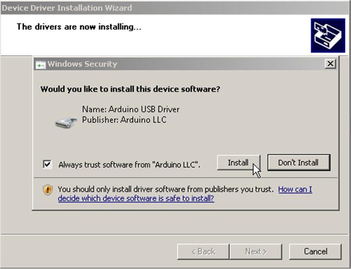 Cài đặt driver và Arduino IDE 8