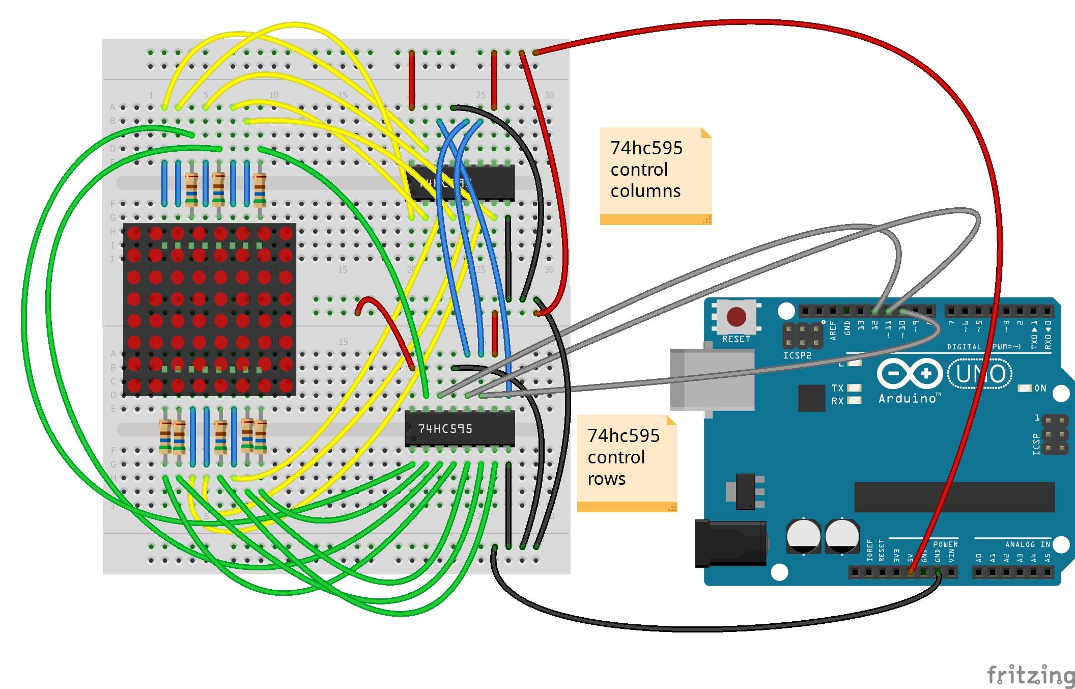 Hiển Thị H 236 Nh ảnh Với Led Matrix 8x8 Cộng đồng Arduino