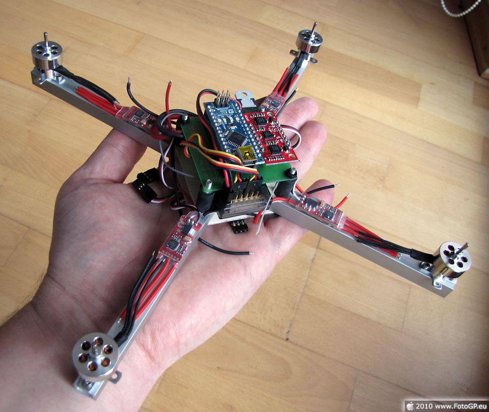 Нано квадрокоптер своими руками