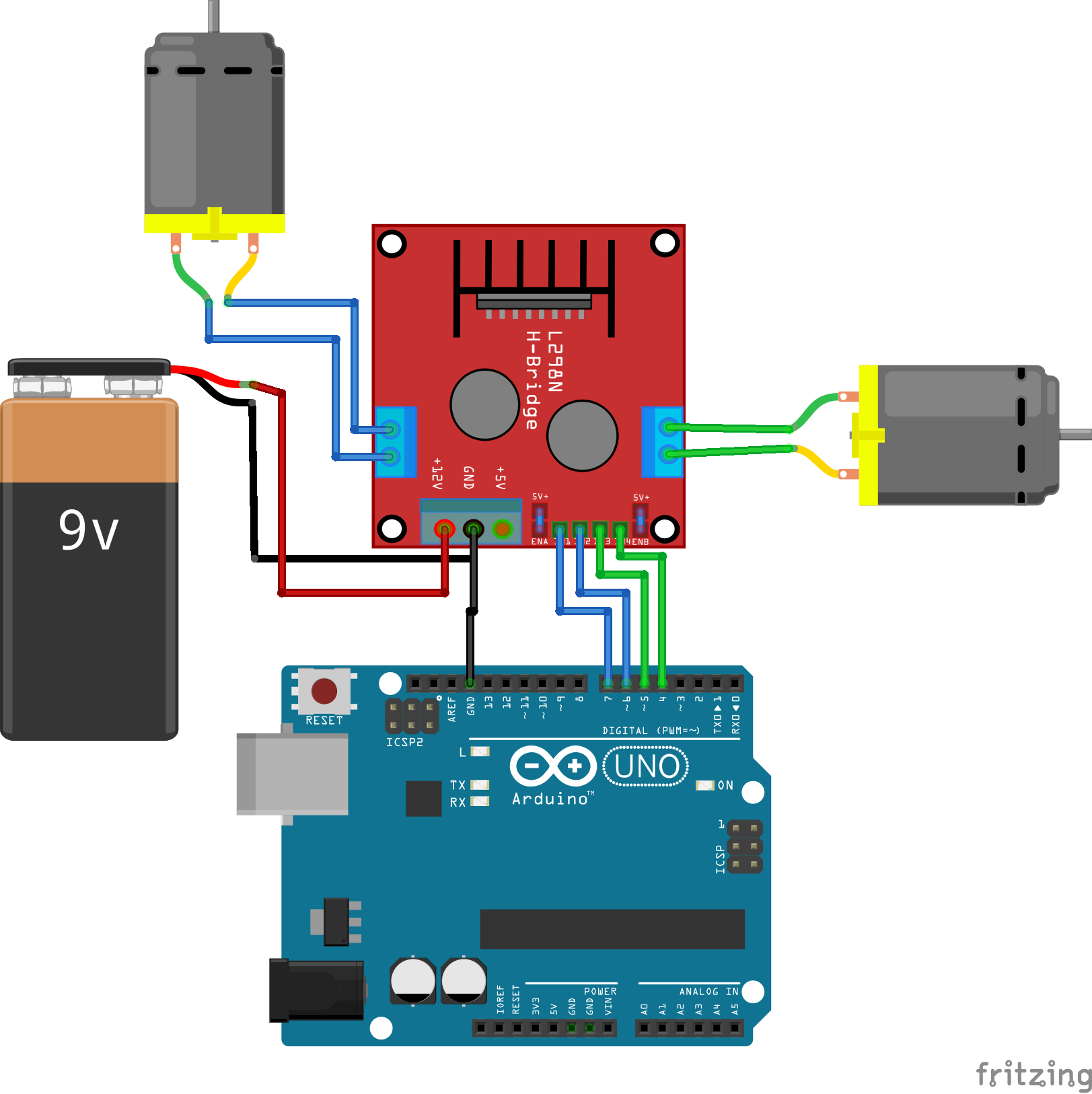 How is the way to use arduino to control ESC? - RC Groups