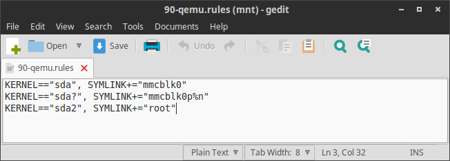 90-qemu.rules (mnt) - gedit_007
